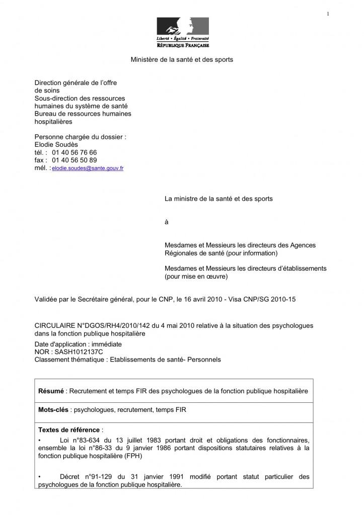 Lettre De Motivation Pour Titularisation Fonction Publique Ash